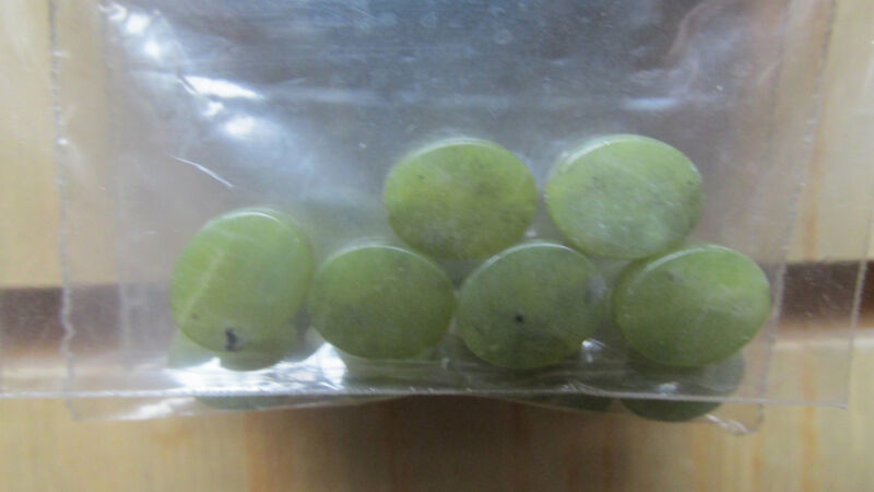 GENUINE CONNEMARA MARBLE Loose Beads 10x8mm Guaranteed Irish