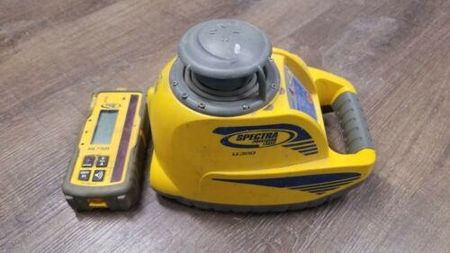 Spectra Precision Laser Level LL300 with HL750 reciever