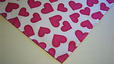 Dog Bandana/Scarf Tie On/Slide On Valentines Custom Made by Linda   XS S M L