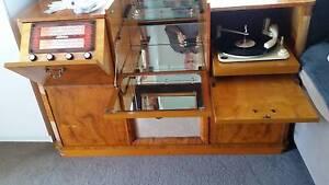 Titan Radio Gram with Mirrored Cabinet Mount Cotton Redland Area Preview
