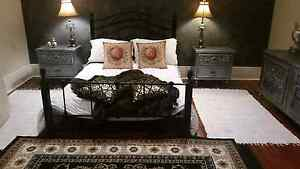 French  style  three piece  bedroom  suite/ double  bed size Stirling Adelaide Hills Preview