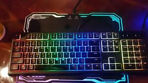RGB Keyboard, Mouse & Mouse Pad 4 Sale!
