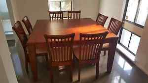 Urgent sale 8 seater dining table Hillarys Joondalup Area Preview