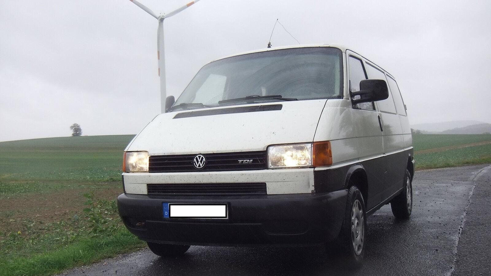 VW T4 Transporter 2,5 TDI nur 161 Euro Steuer da LKW-Zulassung
