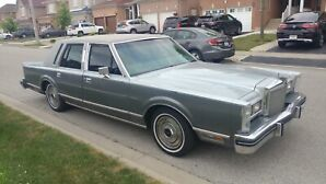 Mint Condition Lincoln Town Car 1984