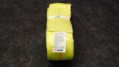 Liftall 61203 Tie Down Strap 27 X 3 5k Lb Limit Steel Flat Hook Polyester