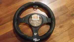 R.M. Williams Leather Steering Wheel Cover Cambridge Gardens Penrith Area Preview
