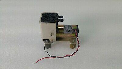Gast Mini Vacuum Pump 8r Dc 24vdc 17in-hg 438 Mbar Abs 23psi 8r110-101-1048