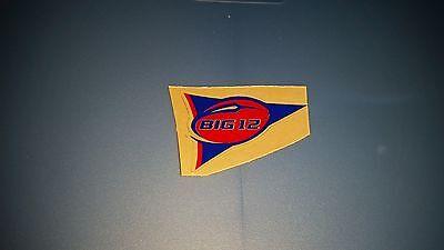 - Kansas Jayhawks Big 12 pennant banner football helmet decal