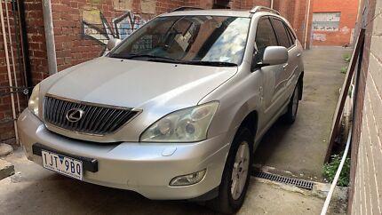 2003 Lexus Rx330 Luxury Sport Version Carlton Melbourne City Preview