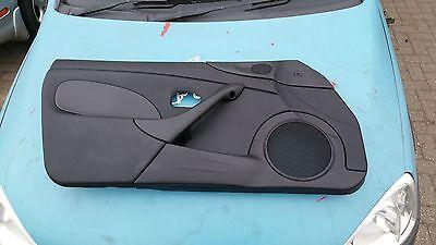 MAZDA MX5 EUNOS LHS BLACK DOOR SPEAKER COVER PANEL PASSENGER MK1 1989-97