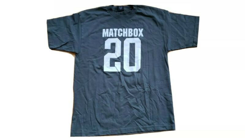 Matchbox 20 XL Vintage Original Concert T Shirt BRAND NEW MInt