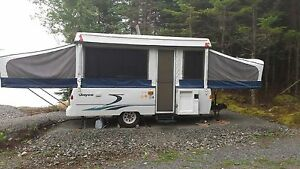 For sale a 1998 jayco 24 foot tent trailer