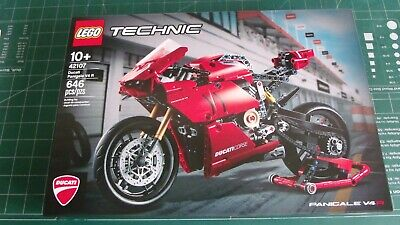 Lego Technic DUCATI PANIGALE V4 R Set 42107 New, IN HAND