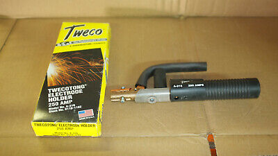 Lot Tweco A316 Electrode Holder 250a And Lenco Af-1