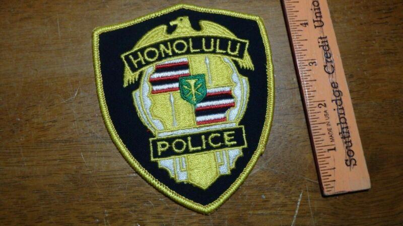 HONOLULU HAWAII POLICE DEPARTMENT    PATCH OBSOLETE  BOX Z #7
