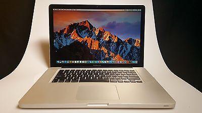 "Apple Macbook Pro Laptop 15.4"" Quad-Core i7 2.2- 3.3 Ghz - 16GB RAM - Dual Drive"