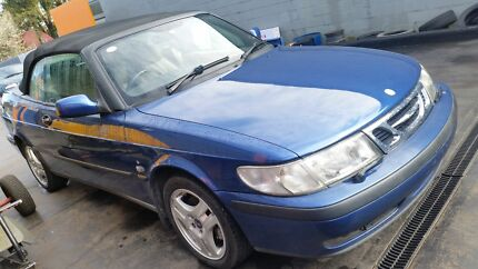 2001 Saab Turbo 93s  Convertible Bargo Wollondilly Area Preview
