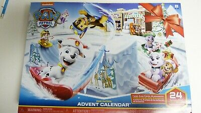 Spin Master Paw Patrol Advent Calendar - NEW in Sealed Package