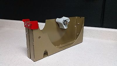12 Inch Tape Dispenser 2 Wide 3 Core Packaging Tape Dispenser With Blade Guard