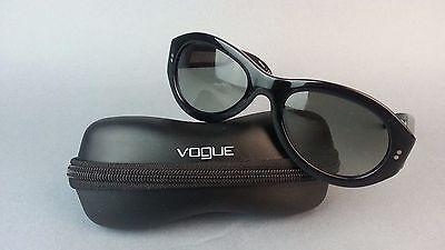 Vogue Sunglasses Matt Murphy Limited Edition Black Oval Frame vo 2642-s w/ Case