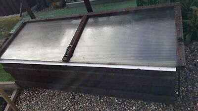 2 X WOODEN COLD FRAMES FOR GROWING
