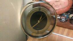 Bifora Quartz Oval Wall Clock,works great,vg!
