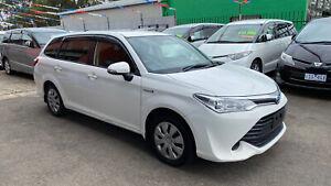 2015 Toyota Corolla Hybrid 5 Seat Hybrid Low K'ss With Rego & Rwc