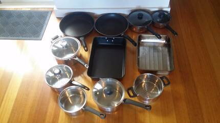 Pots Fry Pans Baking Trays. Deep Fryer. Baby & Household Items
