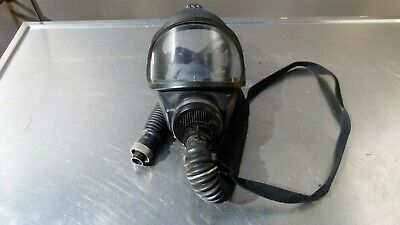 Msa Firefighter Full Facepiece Respirator Air Mask Size M With Hose