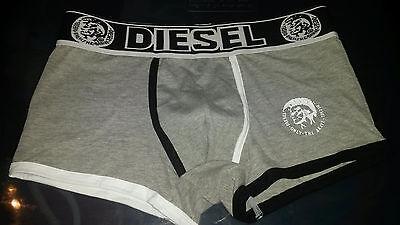 Diesel Men underwear New Boxers Briefs SEXY GREY White Black Size M L -