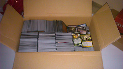 Magic the Gathering Sammlung  ca. 1000 Karten MtG Deck Rares Uncommons Commons