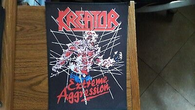 KREATOR,EXTREME AGGRESSION,SEW ON SUBLIMATED LARGE BACK PATCH