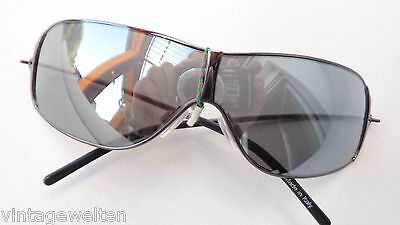 Sunglasses Mirrored Sport Goggles Sunscreen Sunglasses Metal Biker SIZE L