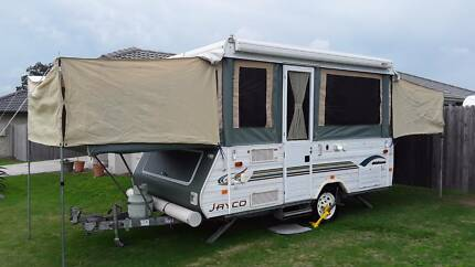 2004 JAYCO HAWK 6/7 BTH CAMPERTRAILER L/WEIGHT ONLY 908KG TARE