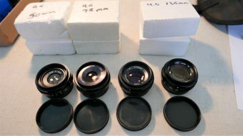 4 Tominon 4.5 Enlarging Lenses 50 ,75 ,105, 135 mm