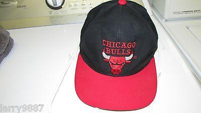 Chicago Bulls Vintage 1980's?  Black/Red baseball cap