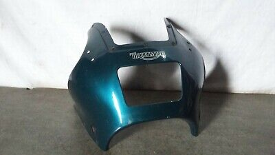 TRIUMPH TROPHY 900   TOP MAIN FRONT HEADLIGHT FAIRING COVER PANEL NOSE