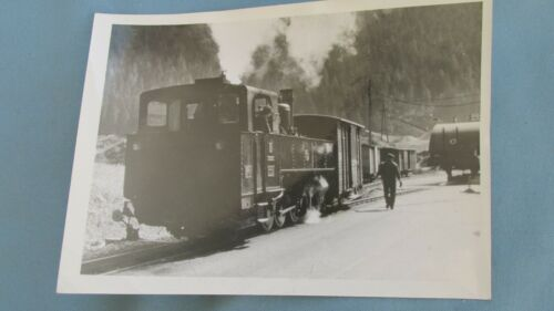 Zillertal Railway Austria Freight Steam Engine Original Print Photograph