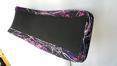YAMAHA GRIZZLY 125  seat cover muddy girl pink camo FITS ALL YEARS