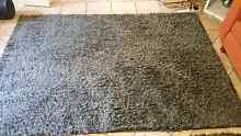 2 x grey shaggy rugs Dianella Stirling Area Preview
