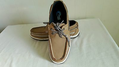 Mens Shoes Island Surf Company Casual Size 10 D M US Brown Tan White