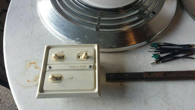 Nutone 9093N bathroom exhaust fan with light,heater.