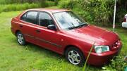 Hyundai Accent 2001 model Cannonvale Whitsundays Area Preview