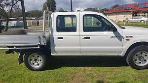 2003 Ford Courier 4x4 dualcab Ute Walkley Heights Salisbury Area Preview
