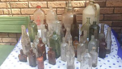 old collectable bottles New Lambton Heights Newcastle Area Preview