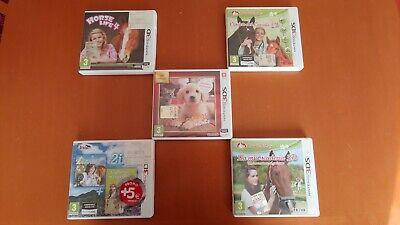 GIOCHI NINTENDO 3DS ++++ 5 STUPENDI GIOCHI ++++