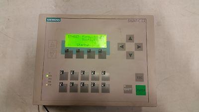 Siemens C7-613 6es7613-1ca00-0ae3 Hmi Operator Interface.