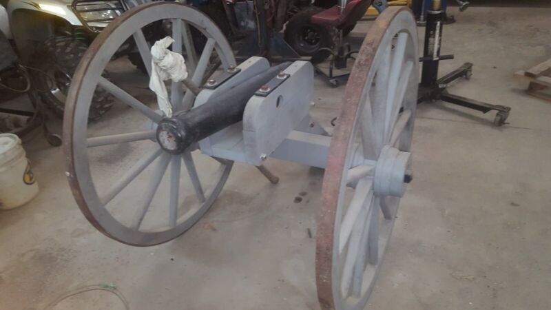 Real Size CANNON with Youtube Video