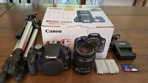 Canon EOS 500D digital camera kit Kenmore Brisbane North West Preview